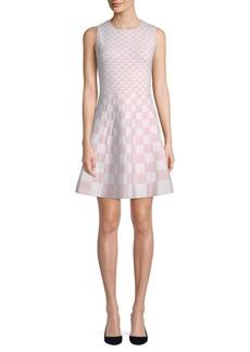 Geometric Sleeveless Dress