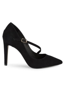 Saks Fifth Avenue Harper Diagonal Buckle Pumps