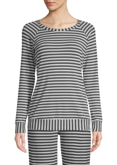 Saks Fifth Avenue Hattie Striped Sweatshirt