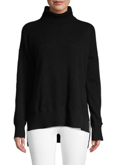 Saks Fifth Avenue High-Low Cashmere Sweater
