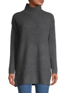 Saks Fifth Avenue High Neck Cashmere Tunic