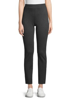 Saks Fifth Avenue High-Rise Ponte Leggings