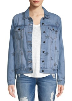 Saks Fifth Avenue Indiana Star Denim Jacket