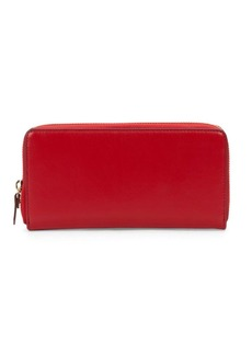 Saks Fifth Avenue Ivy Zip Around Wallet