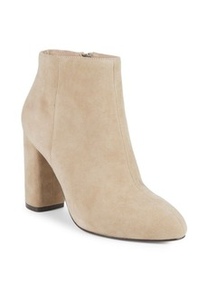 Saks Fifth Avenue Jamie Suede Block Heel Booties