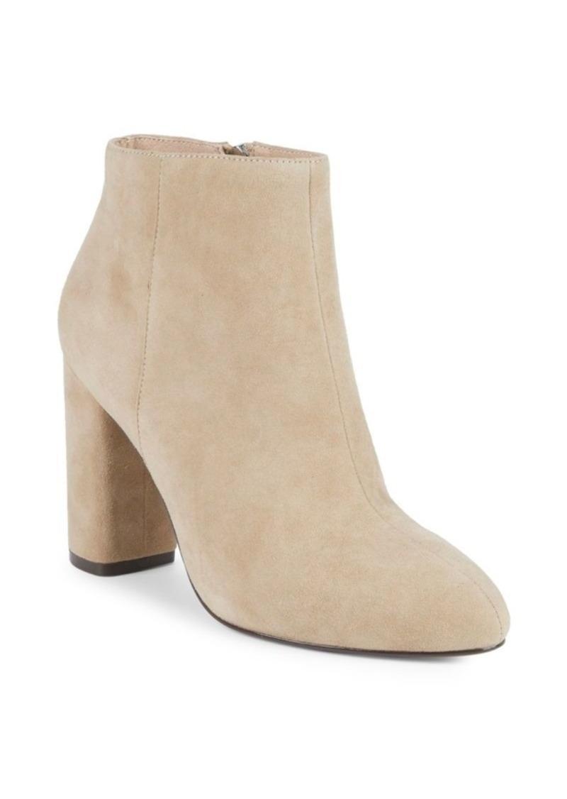 Saks Fifth Avenue Jamie Suede Block Heel Booties