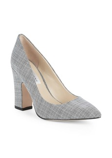 Saks Fifth Avenue Jordi Plaid Pumps