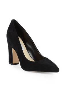 Saks Fifth Avenue Jordi Point Toe Suede Pumps