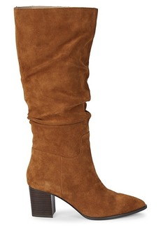 Saks Fifth Avenue Julian Suede Knee-High Boots