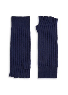 Saks Fifth Avenue Knitted Cashmere Gloves