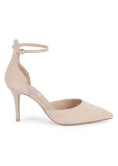Saks Fifth Avenue Kristine Ankle-Strap Suede Pumps