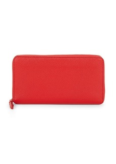 Saks Fifth Avenue Leather Continental Wallet