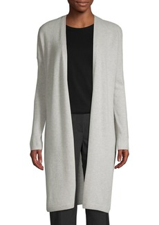 Saks Fifth Avenue Long Cashmere Cardigan