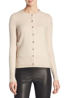 Saks Fifth Avenue Long Sleeve Cashmere Cardigan