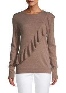 Saks Fifth Avenue Long-Sleeve Ruffled Sweater