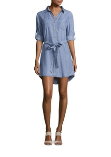 Saks Fifth Avenue Long Sleeve Shirt Dress