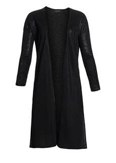 Saks Fifth Avenue Longline Open Cardigan