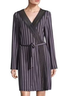 Saks Fifth Avenue Lori Striped Robe
