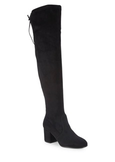 Saks Fifth Avenue Microsuede Tall Boots