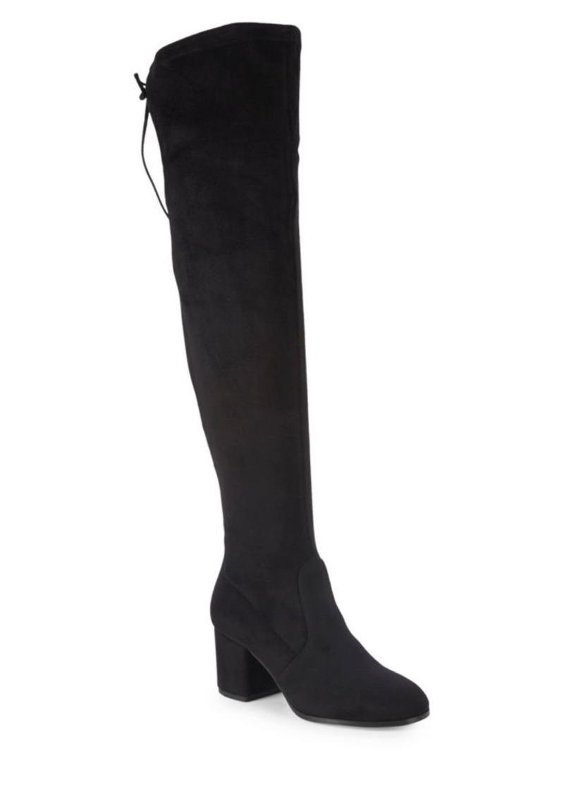 Saks Fifth Avenue Karter Microsuede Knee-High Boots