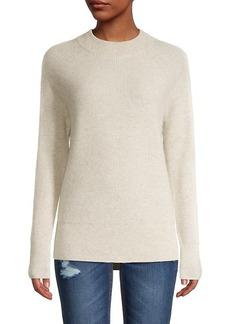 Saks Fifth Avenue Mockneck Cashmere Sweater