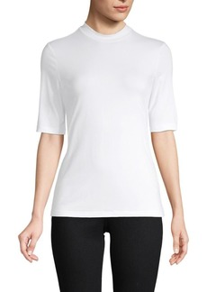 Saks Fifth Avenue Mockneck Top