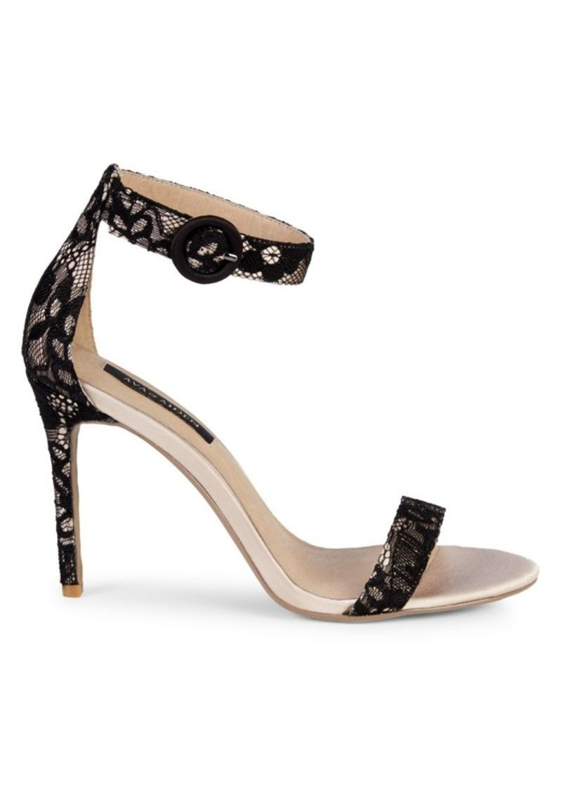 Saks Fifth Avenue Myra Ankle-Strap Lace Sandals