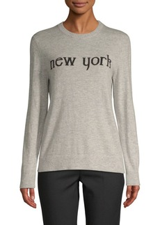 Saks Fifth Avenue New York Intarsia Sweater