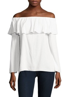 Saks Fifth Avenue Off-The-Shoulder Top