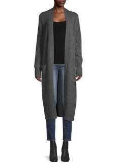 Saks Fifth Avenue Open-Front Cashmere Duster Cardigan Sweater