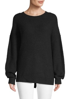 Saks Fifth Avenue Oversized Crewneck Sweater