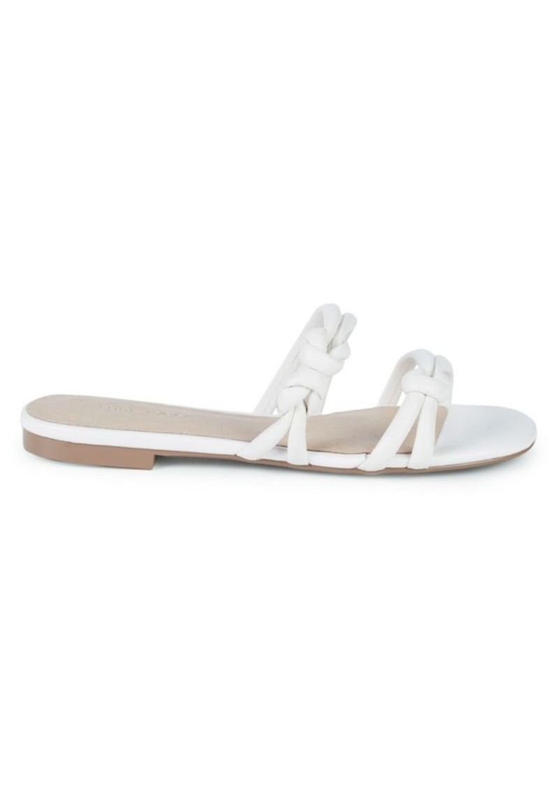 Saks Fifth Avenue Pangai Knotted Leather Sandals