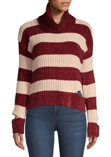 Saks Fifth Avenue Peak-A-Boo Turtleneck Sweater