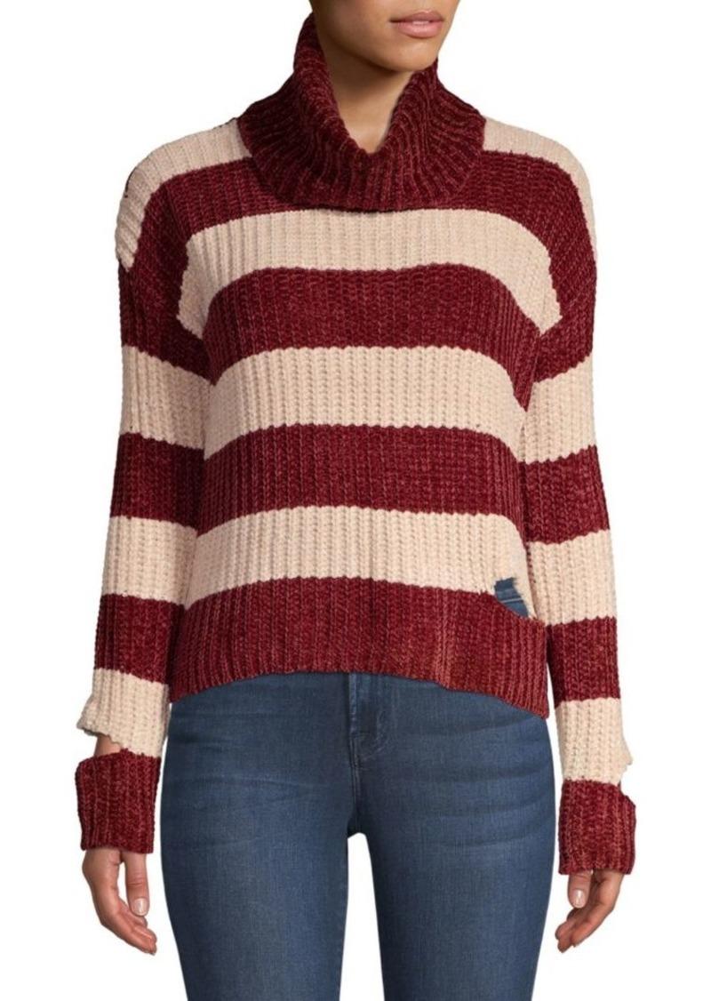 Saks Fifth Avenue Peak-A-Boo Turtleneck Sweater
