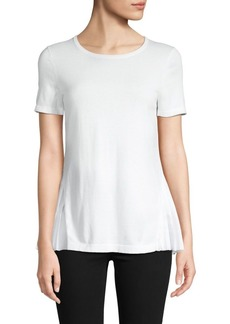 Saks Fifth Avenue Pleated Short-Sleeve Top