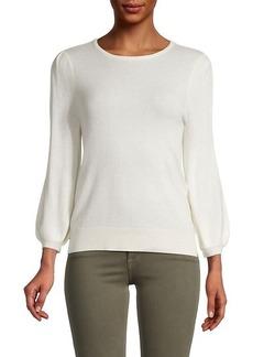 Saks Fifth Avenue Puffed-Sleeve Sweater