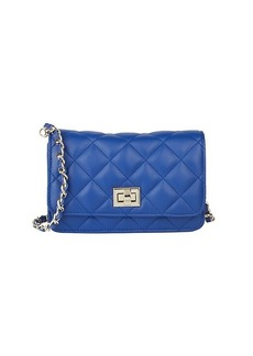 Saks Fifth Avenue Quilted Leather Crossbody Bag