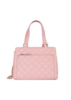 Saks Fifth Avenue Quilted Leather Satchel