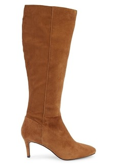 Saks Fifth Avenue Qwynn Suede Knee-High Boots