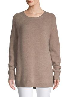 Saks Fifth Avenue Raglan-Sleeve Cashmere Sweater