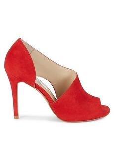 Saks Fifth Avenue Rodney Suede Cutout Sandals