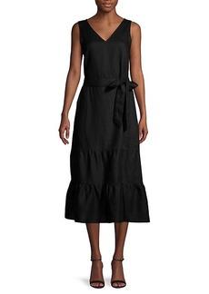 Saks Fifth Avenue Ruffle Midi Dress