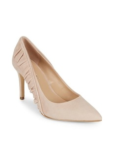 Saks Fifth Avenue Adrian Blush Leather Pumps