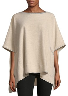 Saks Fifth Avenue Asymmetric Fleece Top