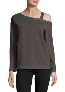 Saks Fifth Avenue Asymmetric Off-Shoulder Sweater