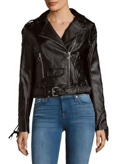 Saks Fifth Avenue Asymmetric Zip Jacket