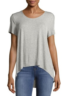 Saks Fifth Avenue BLUE Bar Back T-Shirt