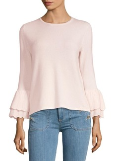 Saks Fifth Avenue Bell-Sleeve Cashmere Sweater