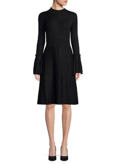 Saks Fifth Avenue Bell-Sleeve Sweater Dress