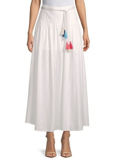 Saks Fifth Avenue Belted Maxi Skirt